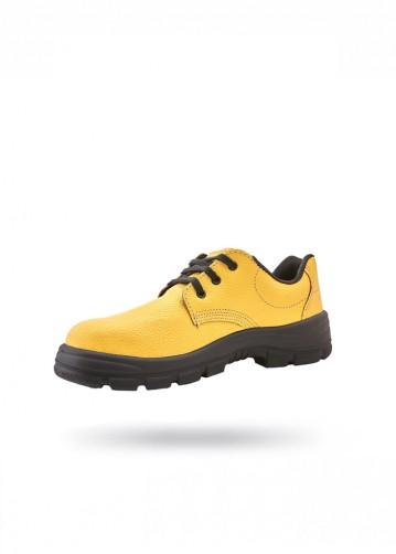 Zapato amarillo con puntera...