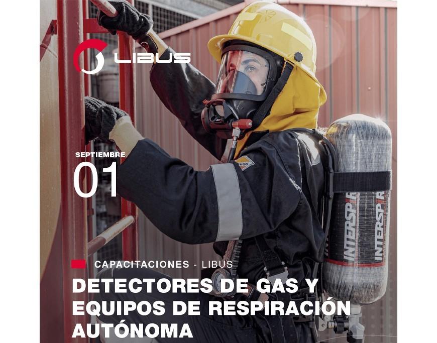 Detectores de gas y equipos de respiración autónoma